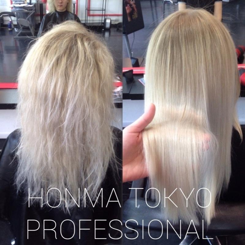 Ботокс для волос honma tokyo